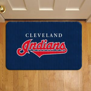Cleveland Indians Rug Doormat Foot Door Mat Steps