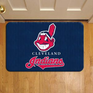 Cleveland Indians MLB Baseball Step Mat Doormat Foot Door Rug Mat