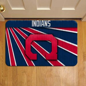 Cleveland Indians Doormat Foot Rug Door Mat Steps