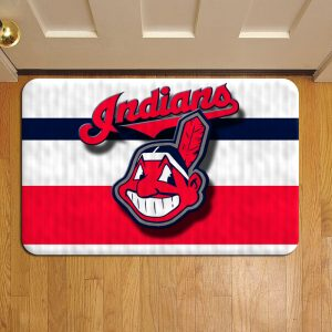 Cleveland Indians Door Steps Foot Doormat Rug Mat
