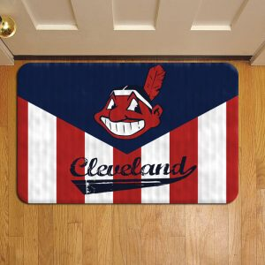 Cleveland Indians Step Mat Doormat Foot Door Rug Mat