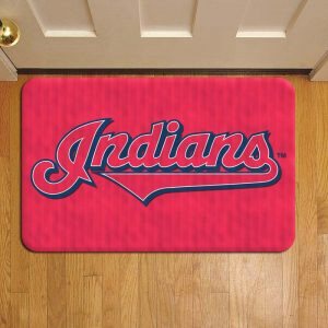Cleveland Indians MLB Baseball Doormat Foot Rug Door Mat Steps
