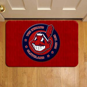 Cleveland Indians MLB Baseball Door Mat Foot Rug Doormat Steps