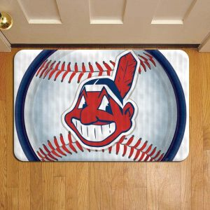 Cleveland Indians MLB Baseball Foot Mat Doormat Rug Door Steps
