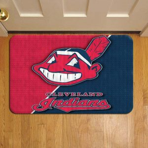 Cleveland Indians MLB Baseball Door Steps Foot Doormat Rug Mat