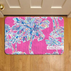 Lilly Pulitzer Doormat Foot Rug Door Mat Steps