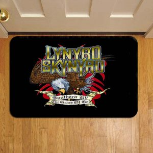 Lynyrd Skynyrd Step Mat Doormat Foot Door Rug Mat