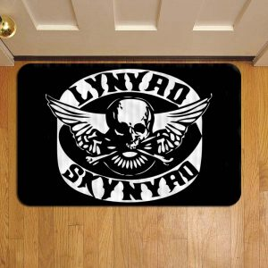 Lynyrd Skynyrd Doormat Foot Rug Door Mat Steps