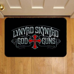 Lynyrd Skynyrd Rock Band Foot Mat Doormat Rug Door Steps
