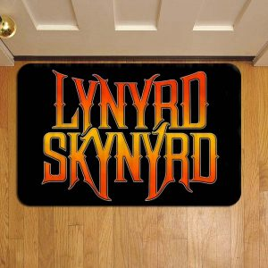 Lynyrd Skynyrd Rock Band Door Steps Foot Doormat Rug Mat