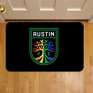 Austin FC MLS Soccer Foot Mat Doormat Rug Door Steps