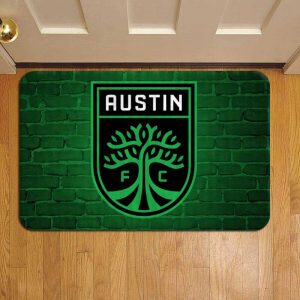 Austin FC MLS Soccer Door Steps Foot Doormat Rug Mat