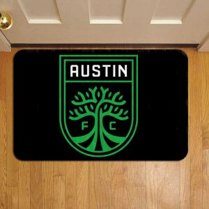 Austin FC MLS Soccer Step Mat Doormat Foot Door Rug Mat