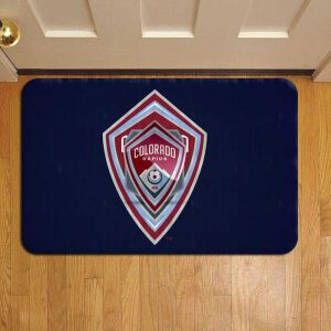 Colorado Rapids Doormat Foot Rug Door Mat Steps