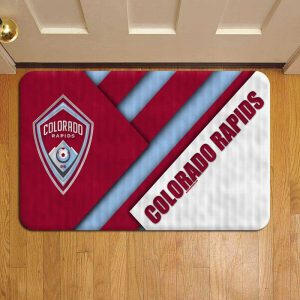 Colorado Rapids MLS Soccer Foot Mat Doormat Rug Door Steps