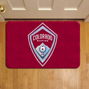 Colorado Rapids MLS Soccer Step Mat Doormat Foot Door Rug Mat
