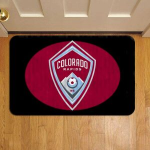 Colorado Rapids MLS Soccer Doormat Foot Rug Door Mat Steps