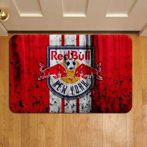 New York Red Bulls Door Mat Foot Rug Doormat Steps