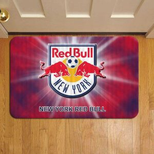 New York Red Bulls MLS Soccer Foot Mat Doormat Rug Door Steps