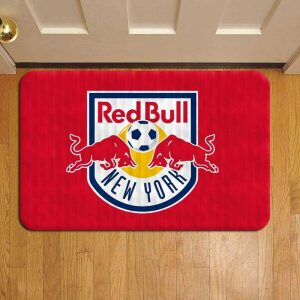New York Red Bulls MLS Soccer Door Steps Foot Doormat Rug Mat