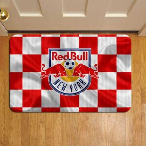 New York Red Bulls MLS Soccer Doormat Foot Rug Door Mat Steps