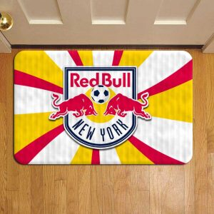 New York Red Bulls MLS Soccer Door Mat Foot Rug Doormat Steps