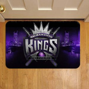 Sacramento Kings Doormat Foot Rug Door Mat Steps