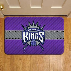 Sacramento Kings NBA Basketball Door Mat Foot Rug Doormat Steps