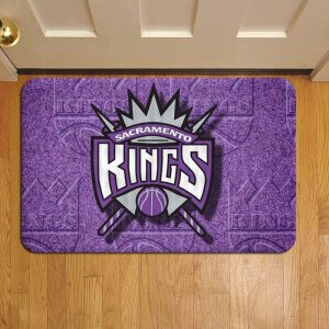 Sacramento Kings NBA Basketball Door Steps Foot Doormat Rug Mat