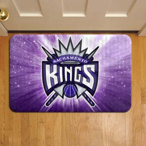 Sacramento Kings NBA Basketball Step Mat Doormat Foot Door Rug Mat