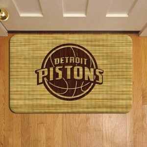 Detroit Pistons Doormat Foot Rug Door Mat Steps