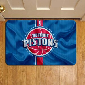 Detroit Pistons Door Mat Foot Rug Doormat Steps