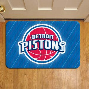 Detroit Pistons Rug Doormat Foot Door Mat Steps