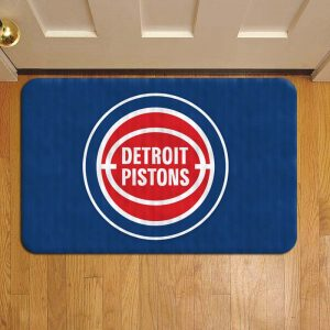 Detroit Pistons Foot Mat Doormat Rug Door Steps