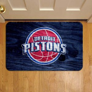 Detroit Pistons NBA Basketball Step Mat Doormat Foot Door Rug Mat