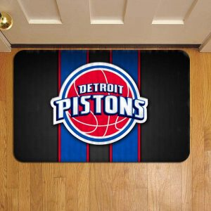 Detroit Pistons NBA Basketball Door Mat Foot Rug Doormat Steps
