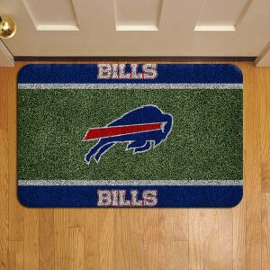 Buffalo Bills Rug Doormat Foot Door Mat Steps