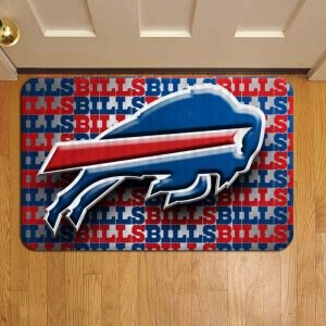 Buffalo Bills NFL Football Doormat Foot Rug Door Mat Steps