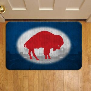 Buffalo Bills Foot Mat Doormat Rug Door Steps