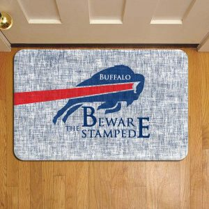 Buffalo Bills NFL Football Door Mat Foot Rug Doormat Steps