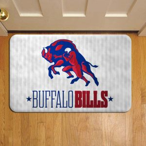 Buffalo Bills NFL Football Rug Doormat Foot Door Mat Steps
