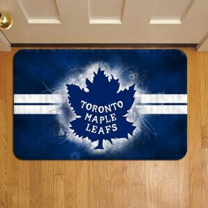 Toronto Maple Leafs NHL Hockey Step Mat Doormat Foot Door Rug Mat