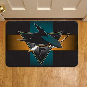 San Jose Sharks Foot Mat Doormat Rug Door Steps