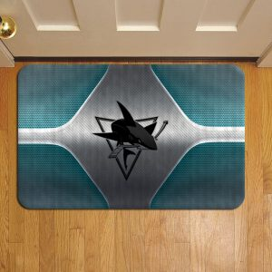 San Jose Sharks Door Steps Foot Doormat Rug Mat