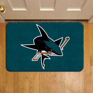San Jose Sharks NHL Hockey Door Mat Foot Rug Doormat Steps