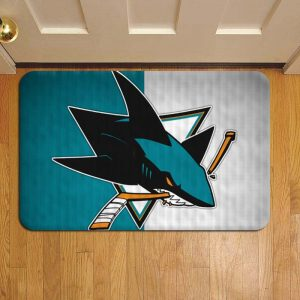 San Jose Sharks NHL Hockey Door Steps Foot Doormat Rug Mat