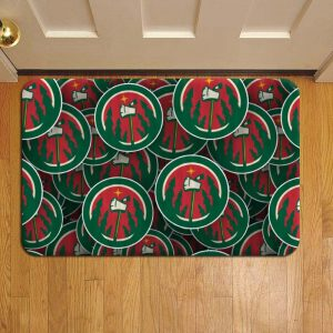 Minnesota Wild NHL Hockey Foot Mat Doormat Rug Door Steps