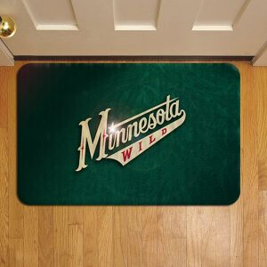 Minnesota Wild Door Mat Foot Rug Doormat Steps