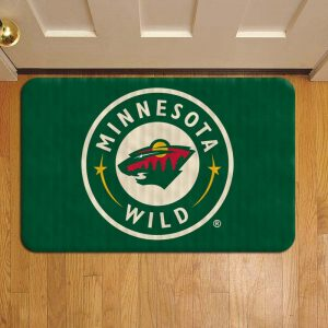 Minnesota Wild NHL Hockey Door Steps Foot Doormat Rug Mat