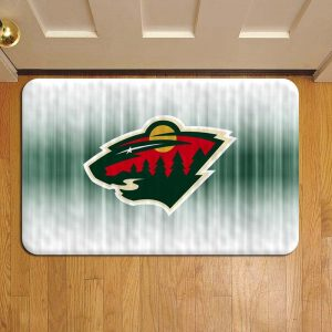 Minnesota Wild NHL Hockey Step Mat Doormat Foot Door Rug Mat